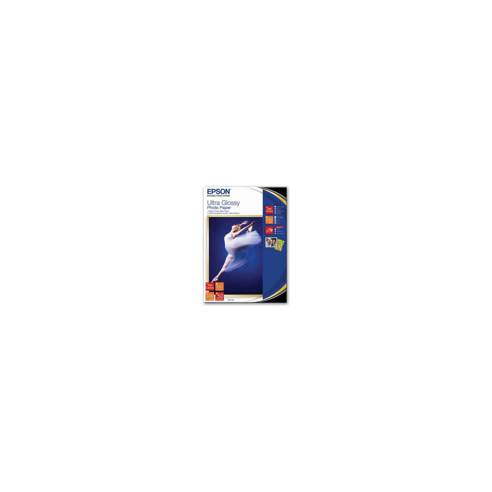 Бумага EPSON 13х18 Ultra Glossy (C13S041944)