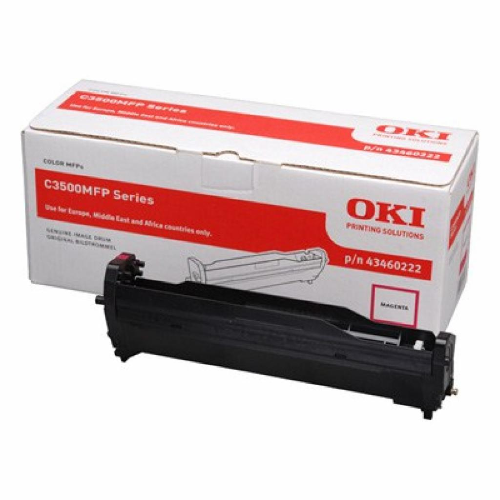 Фотокондуктор OKI C3520MFP/3530MFP/MC350/360 Magenta (43460222)