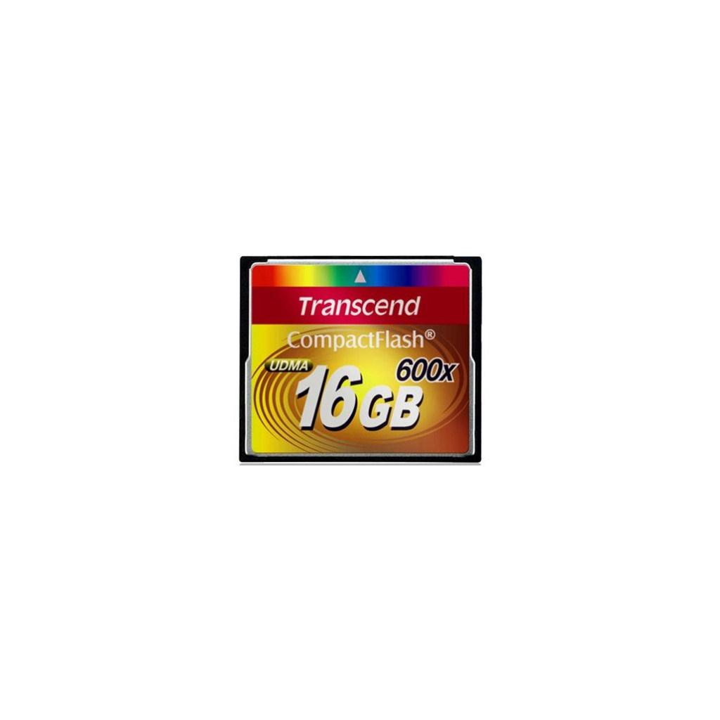 Карта памяти Transcend 16Gb Compact Flash 600x (TS16GCF600)