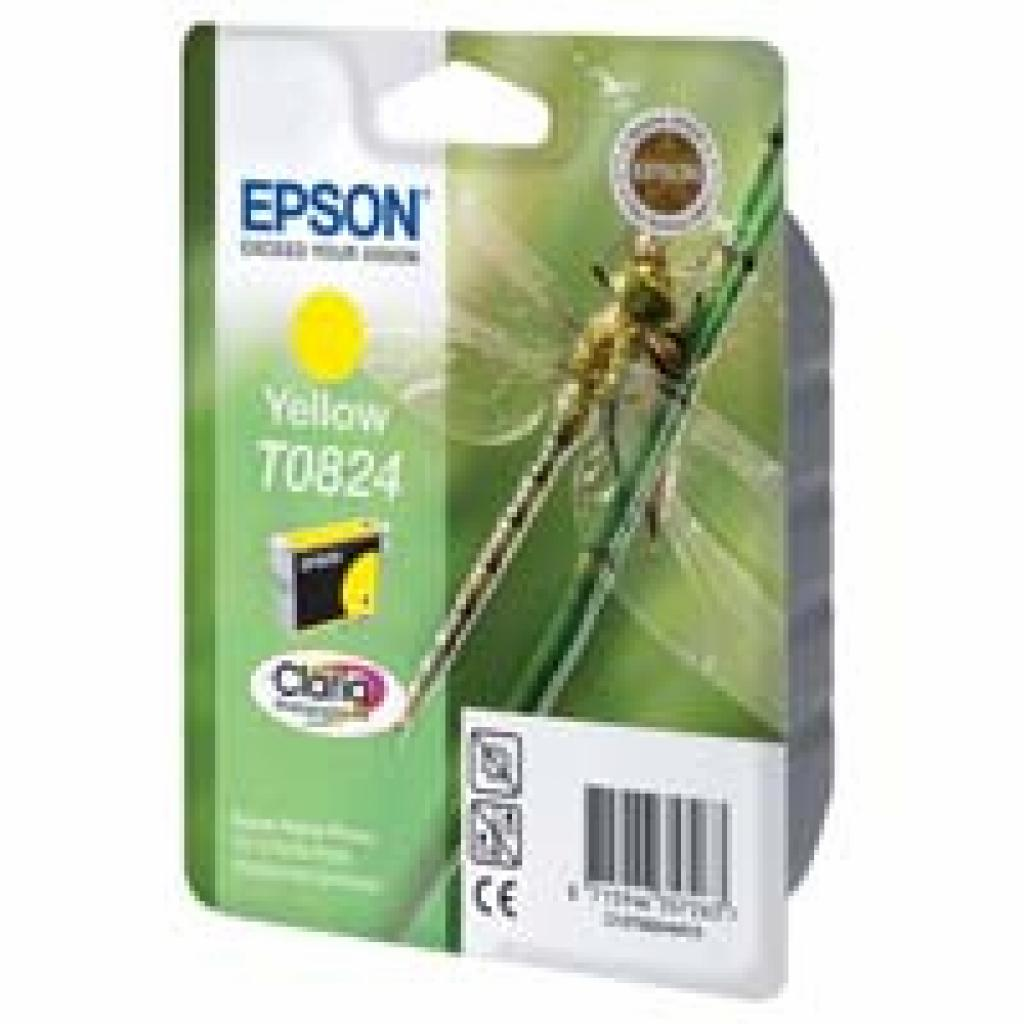 Картридж EPSON R270/290 RX590/610/690 Yellow (C13T08244A10/C13T11244A10)