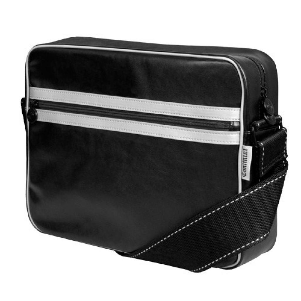 Сумка для ноутбука Continent 13 CC-063 Black/Silver (CC-063 Black/Silver)