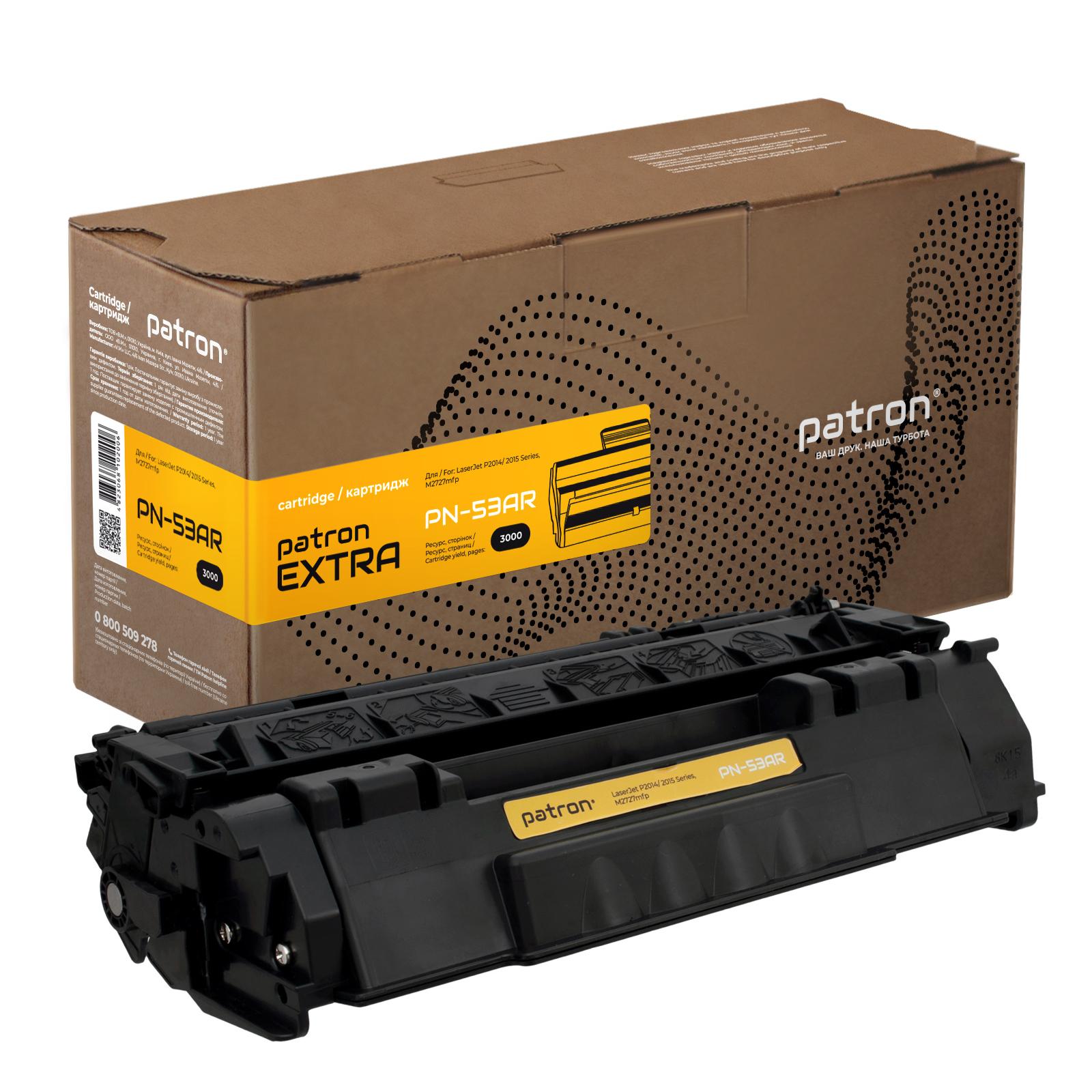 Картридж PATRON HP LJP2015/P2014 EXTRA (PN-53AR)