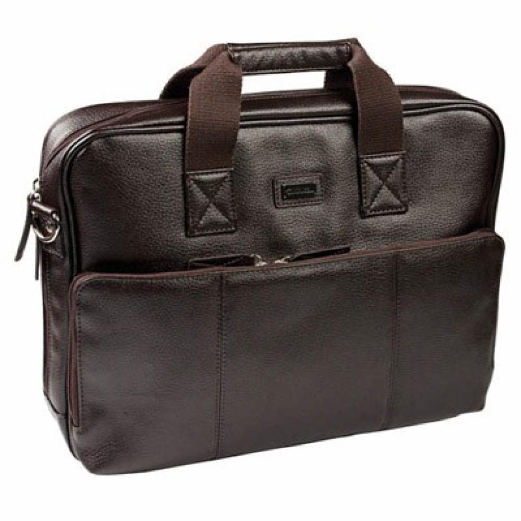 """Сумка для ноутбука Krusell 16"""" Ystad Laptop brown (71267)"""