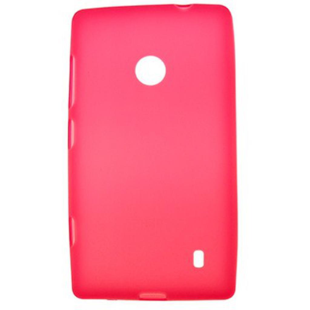 Чехол для моб. телефона Drobak для NOKIA 520 Lumia /Elastic PU/Red (216360)