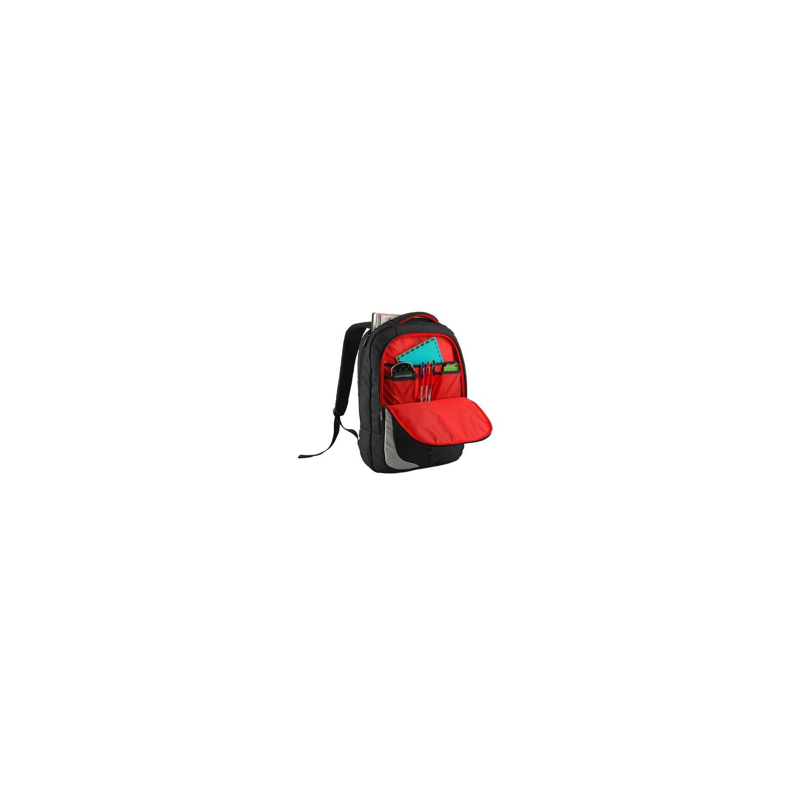 Рюкзак для ноутбука Crown 15.6 Genuine black (BPG4415B) изображение 2