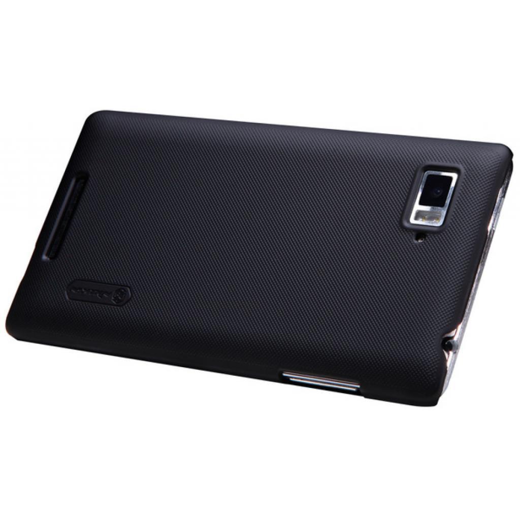 Чехол для моб. телефона NILLKIN для Lenovo K910 /Super Frosted Shield/Black (6120375) изображение 4