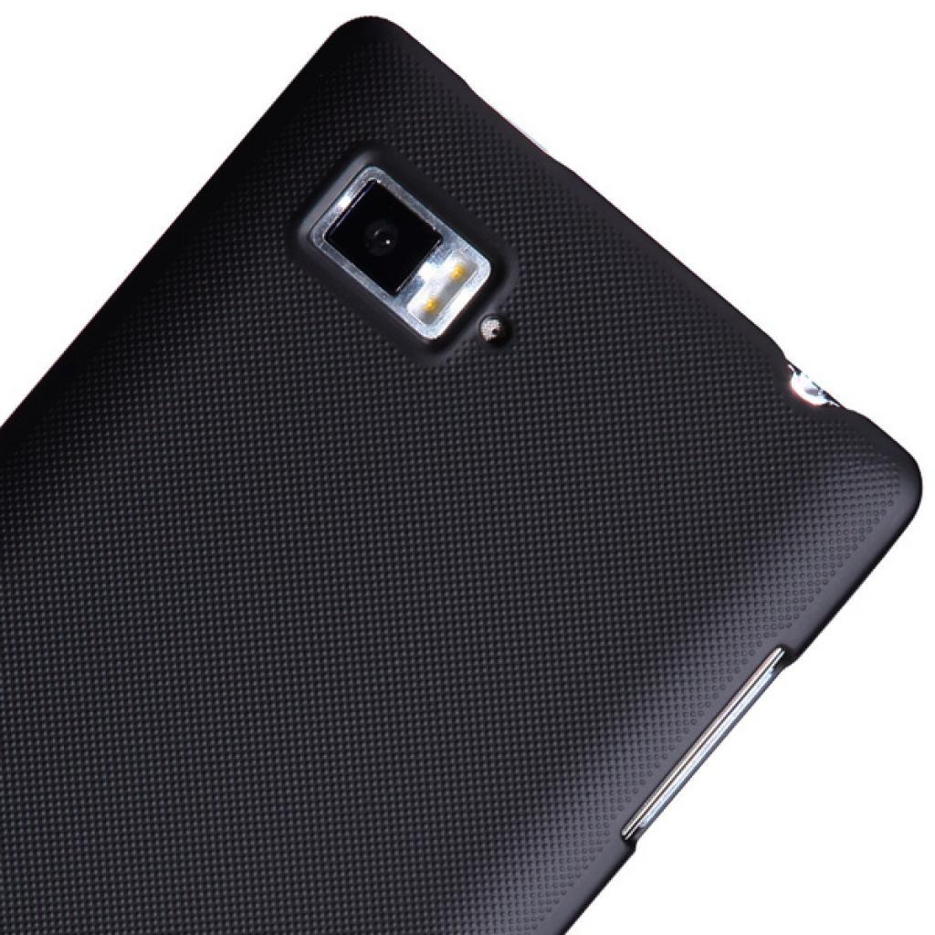 Чехол для моб. телефона NILLKIN для Lenovo K910 /Super Frosted Shield/Black (6120375) изображение 5