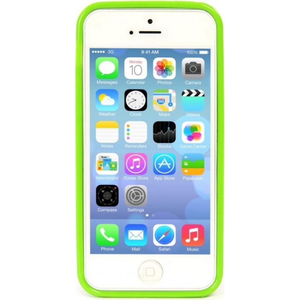 Чехол для моб. телефона Tucano iPhone 5С /Velo/Green (IPHCV-V) изображение 2