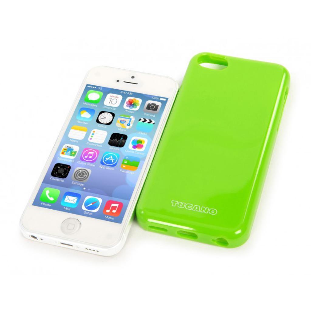Чехол для моб. телефона Tucano iPhone 5С /Velo/Green (IPHCV-V) изображение 4