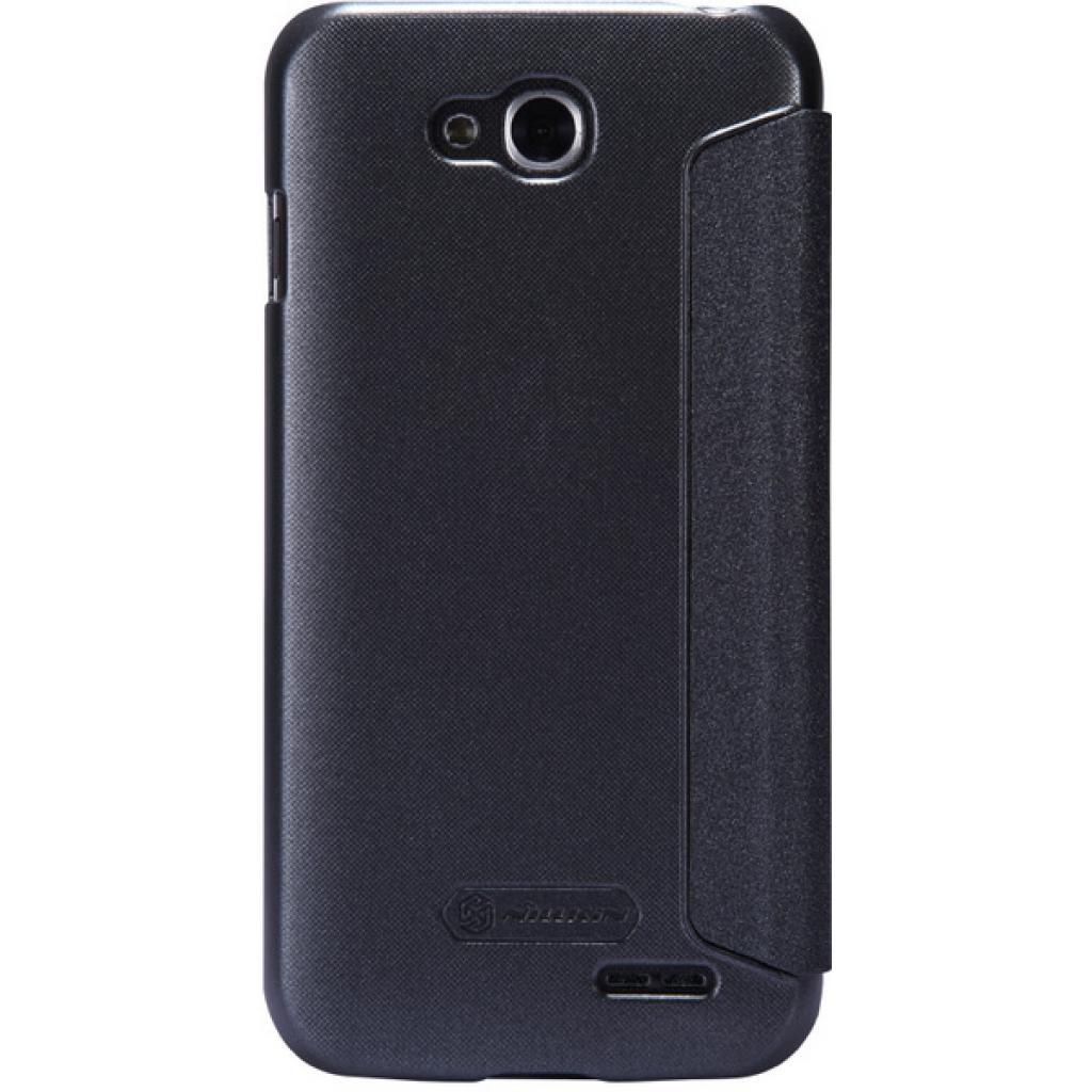 Чехол для моб. телефона NILLKIN для LG L90 Dual /Spark/ Leather/Black (6154932) изображение 5