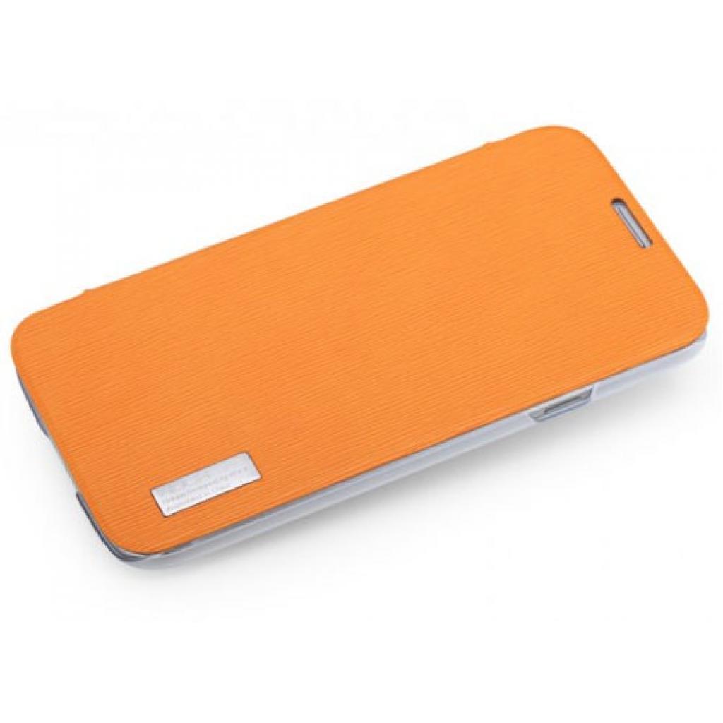 Чехол для моб. телефона Rock Samsung Galaxy Mega 6.3 new elegant series orange (I9200-30088)