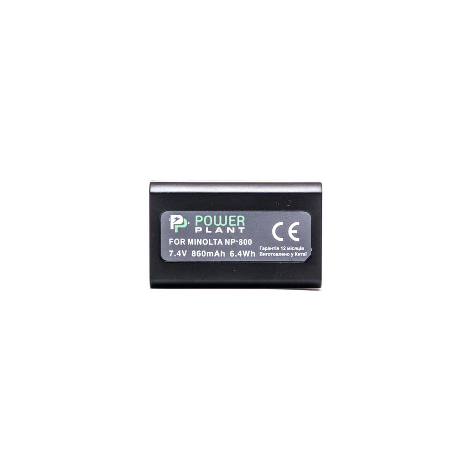 Аккумулятор к фото/видео PowerPlant Minolta NP-800, EN-EL1 (DV00DV1069) изображение 2