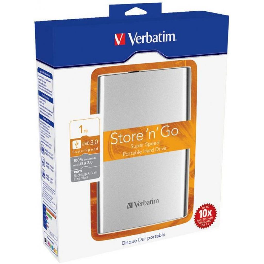 """Внешний жесткий диск 2.5"""" 1TB Verbatim (53071) изображение 7"""