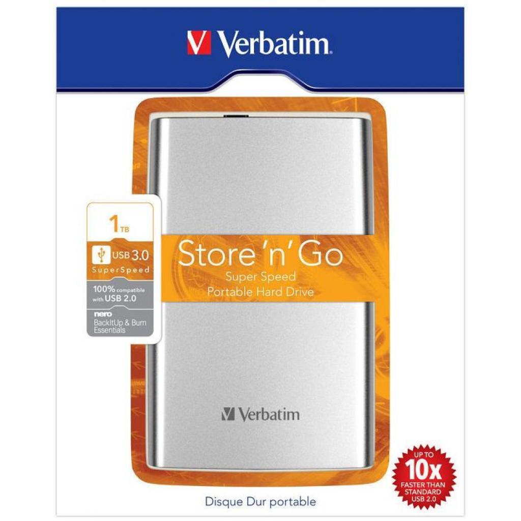 """Внешний жесткий диск 2.5"""" 1TB Verbatim (53071) изображение 8"""