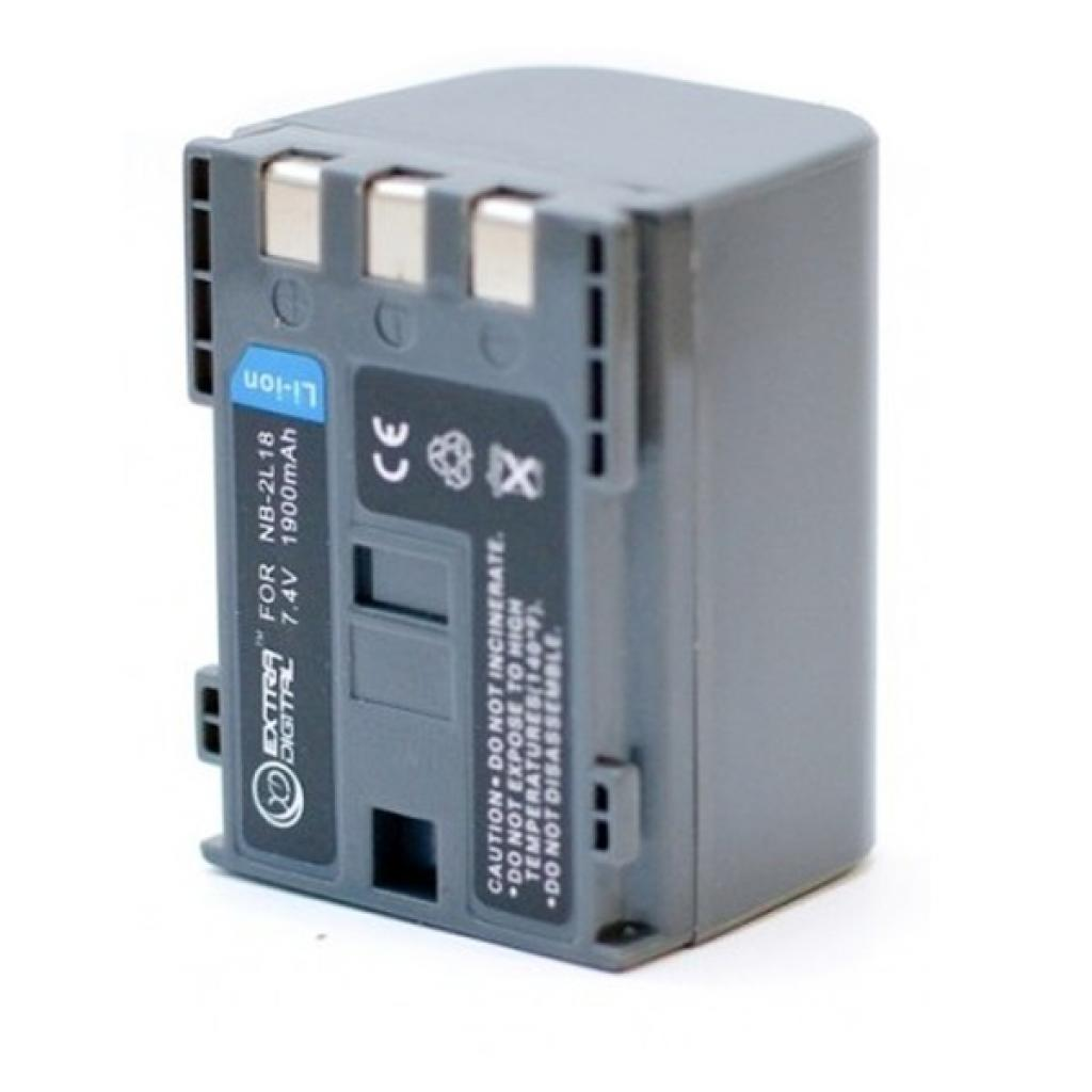 Аккумулятор к фото/видео EXTRADIGITAL Canon NB-2L18 (DV00DV1074) изображение 2