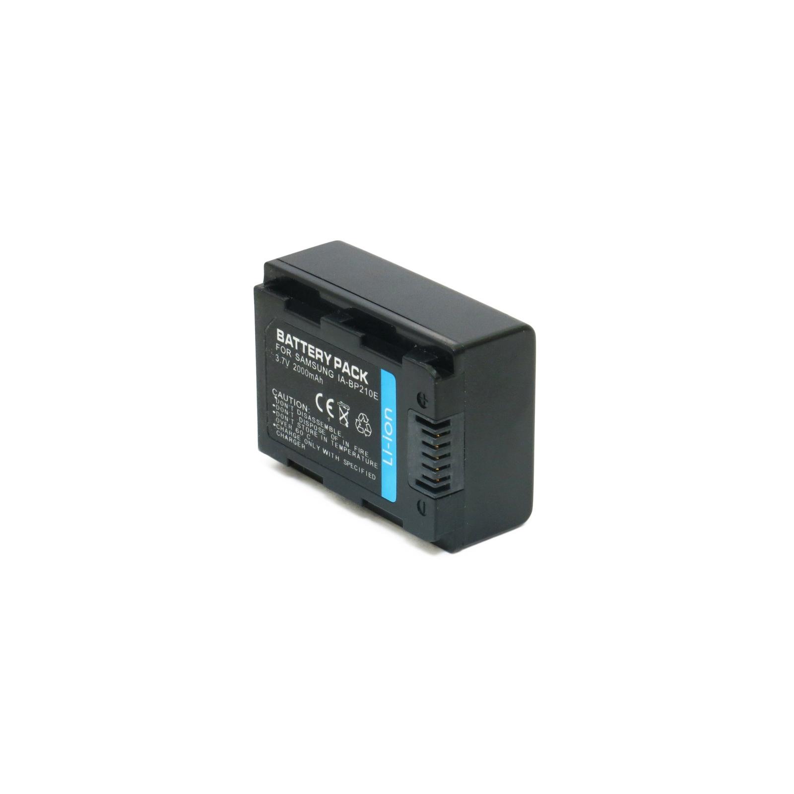 Аккумулятор к фото/видео EXTRADIGITAL Samsung IA-BP210E (DV00DV1285) изображение 2