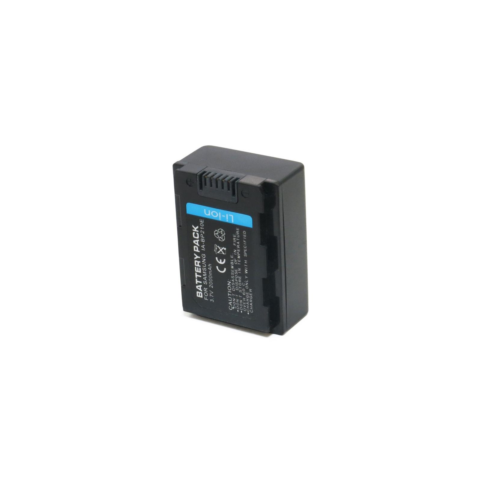 Аккумулятор к фото/видео EXTRADIGITAL Samsung IA-BP210E (DV00DV1285) изображение 5