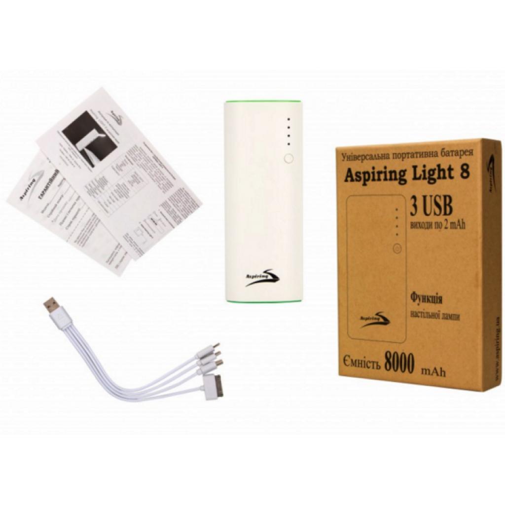 Батарея универсальная Aspiring 8000 mAh 5V/2A (Light 8) изображение 7