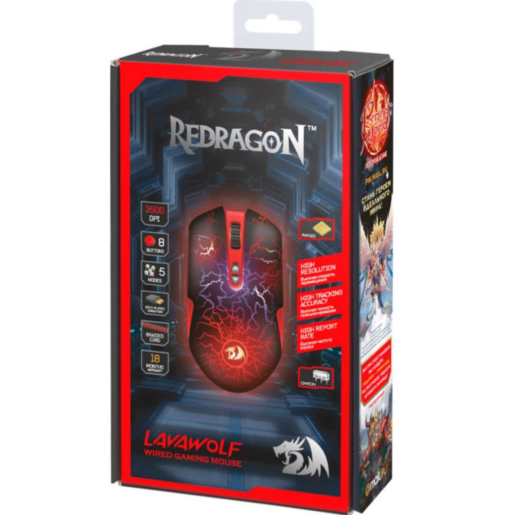 Мышка Redragon LavaWolf (70236) изображение 6