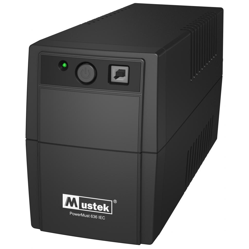 Источник бесперебойного питания Mustek PowerMust 636 ( 650VA ) (98-UPS-VN006)