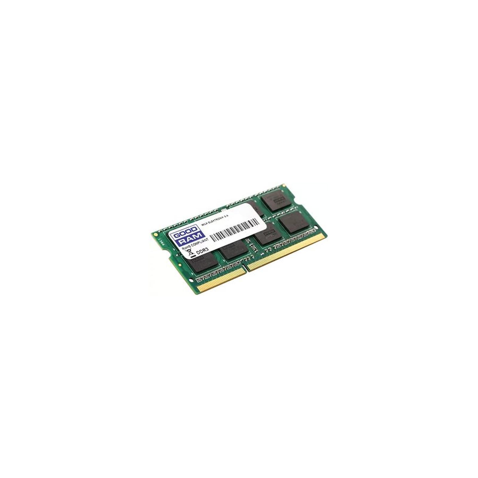 Модуль памяти для ноутбука SoDIMM DDR3 2GB 1600 MHz GOODRAM (GR1600S364L11N/2G) изображение 2