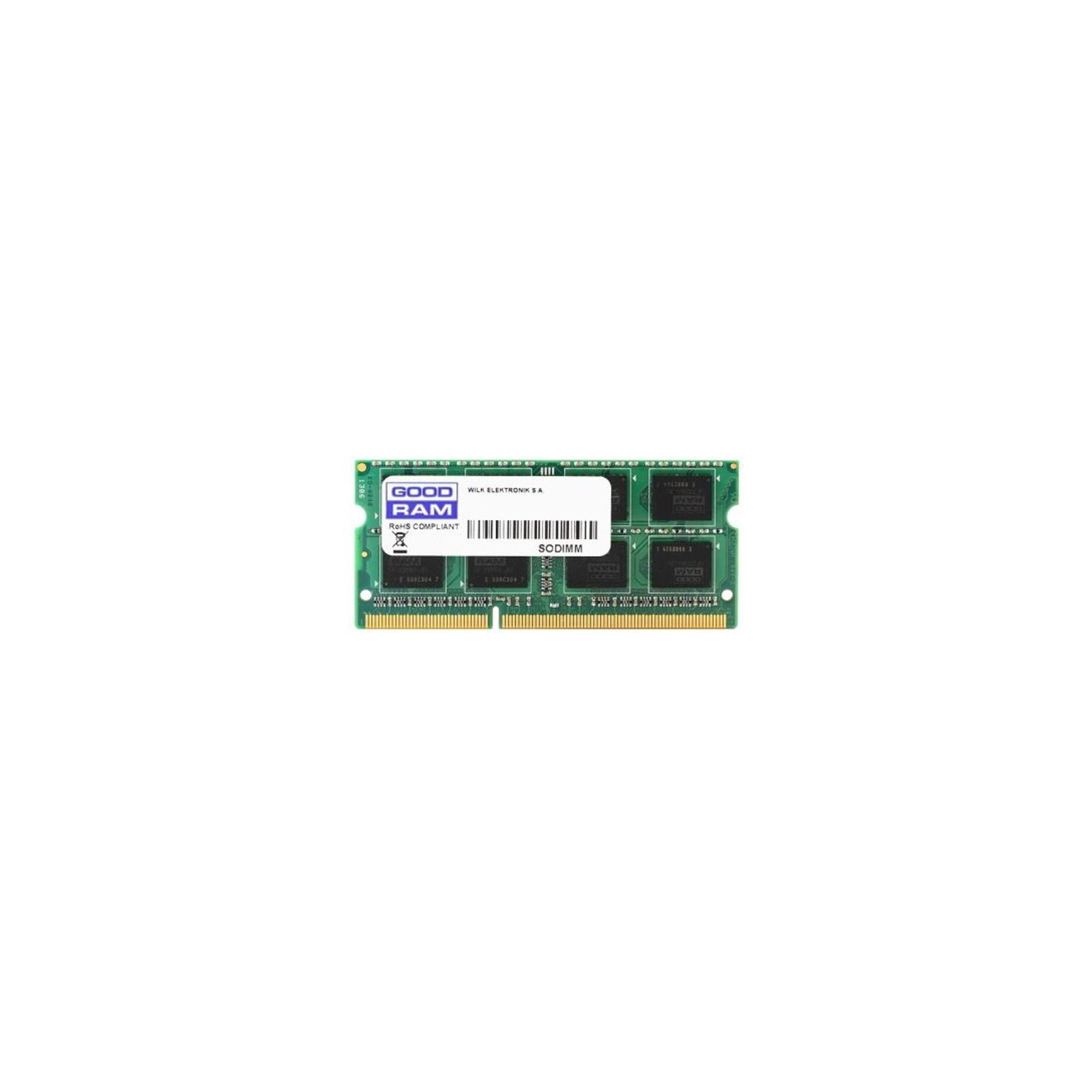 Модуль памяти для ноутбука SoDIMM DDR3 2GB 1600 MHz GOODRAM (GR1600S364L11N/2G)