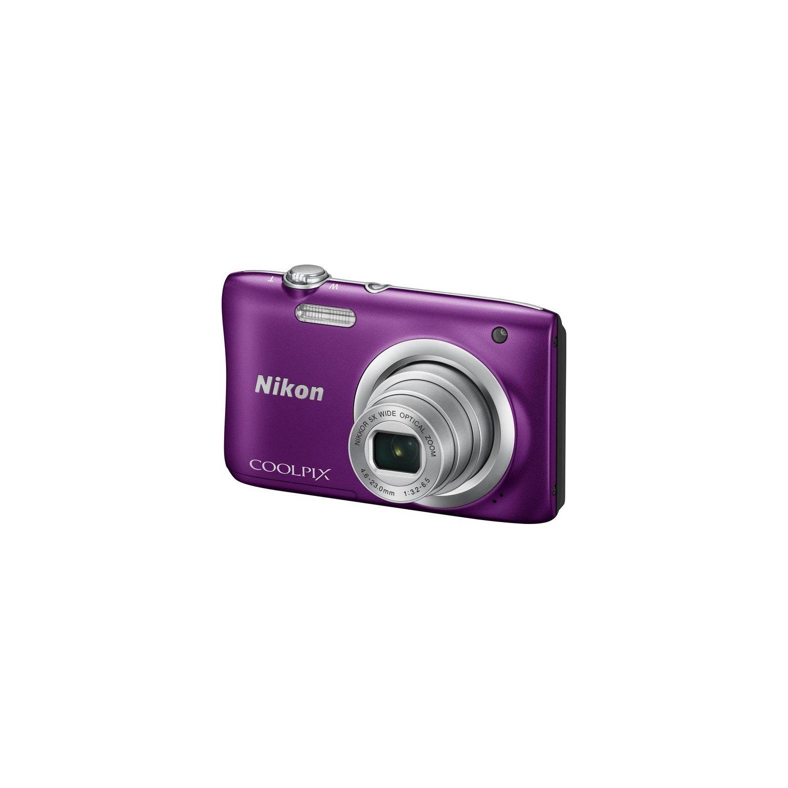 Цифровой фотоаппарат Nikon Coolpix A100 Purple (VNA973E1) изображение 2