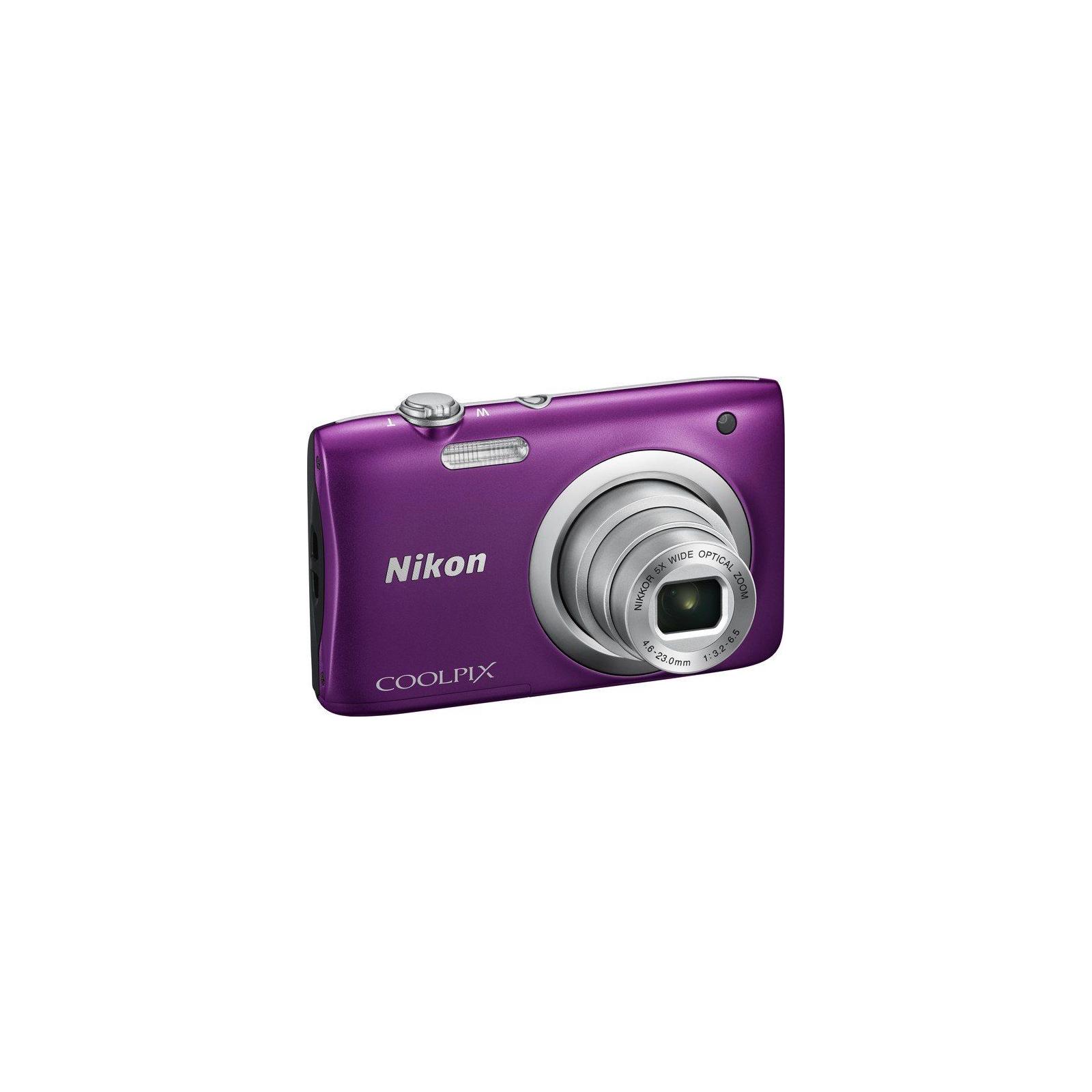 Цифровой фотоаппарат Nikon Coolpix A100 Purple (VNA973E1) изображение 3
