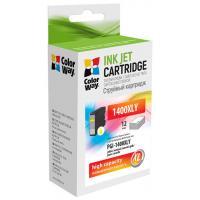 Картридж ColorWay Canon PGI-1400XL Yellow MB2040/MB2340 (CW-PGI-1400XLY)