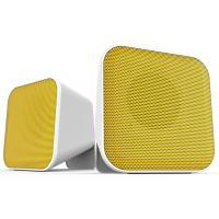 Акустическая система Speedlink SNAPPY Stereo Speakers, white-yellow (SL-810002-WEYW)