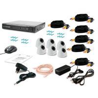 Комплект видеонаблюдения Tecsar 6IN-3M DOME (9573)