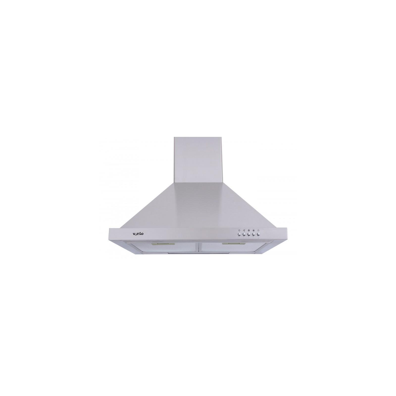Вытяжка кухонная Ventolux LAZIO 60 INOX (900) изображение 2