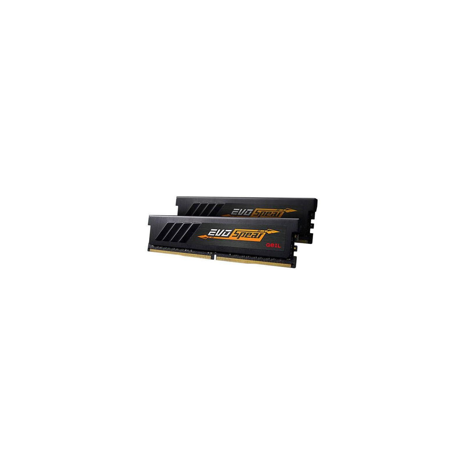 Модуль памяти для компьютера DDR4 16GB (2x8GB) 3200 MHz EVO SPEAR Geil (GSB416GB3200C16ADC) изображение 2