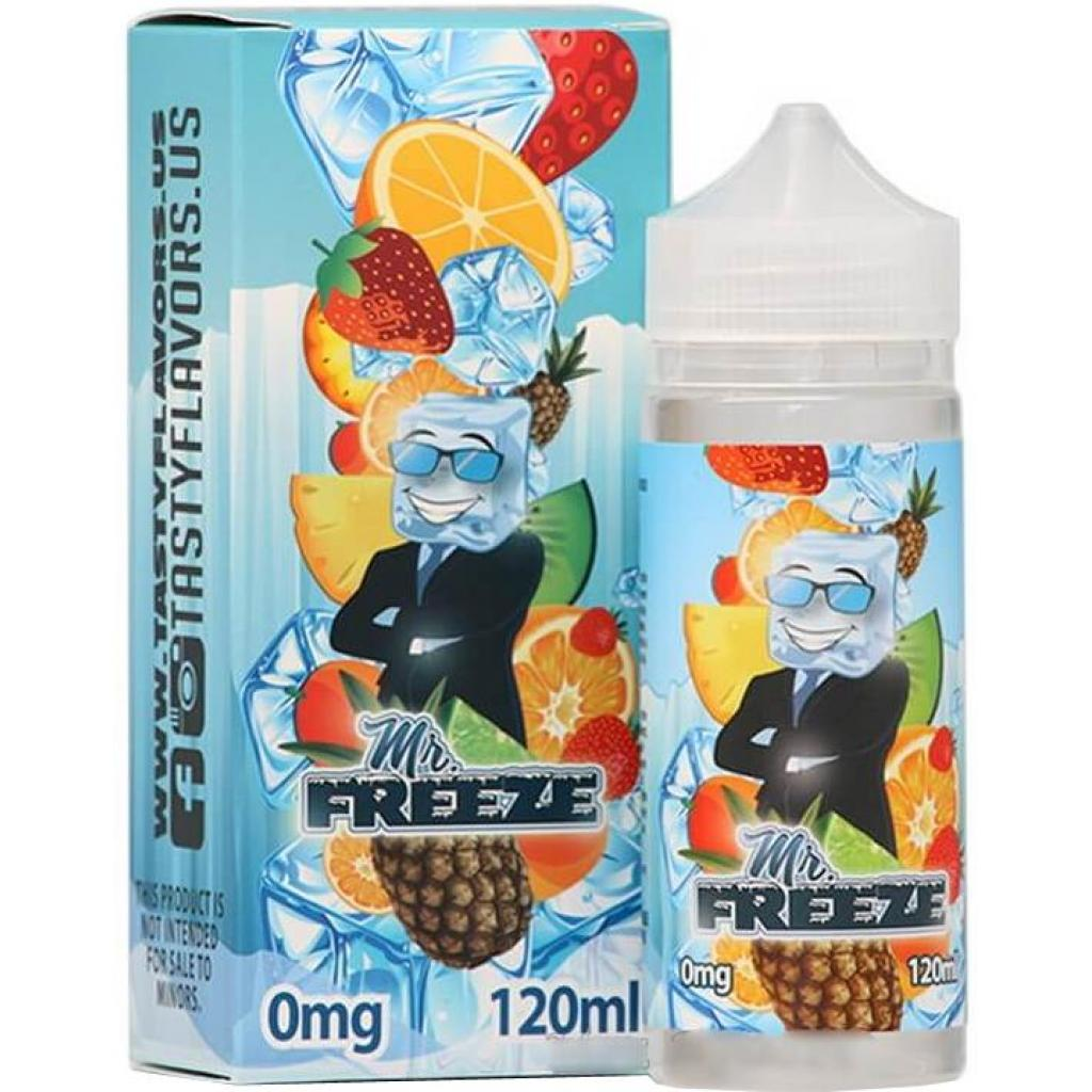 "Жидкость для электронных сигарет Tasty Flavors ""Mr. Freeze"" 3 мг 120 мл (TF-FR-3)"
