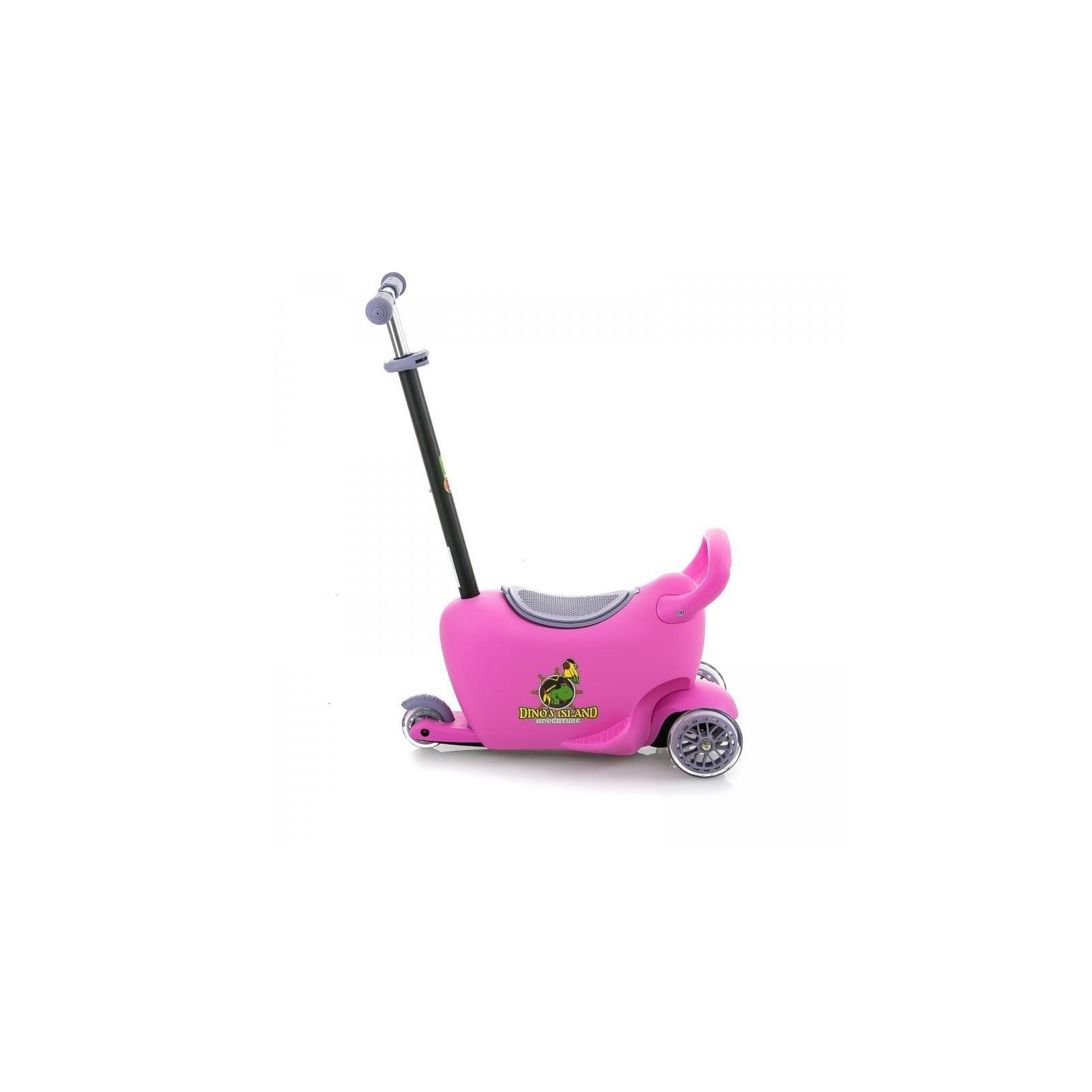 Самокат BabyHit Enjoy G2 Pink (25609) изображение 2