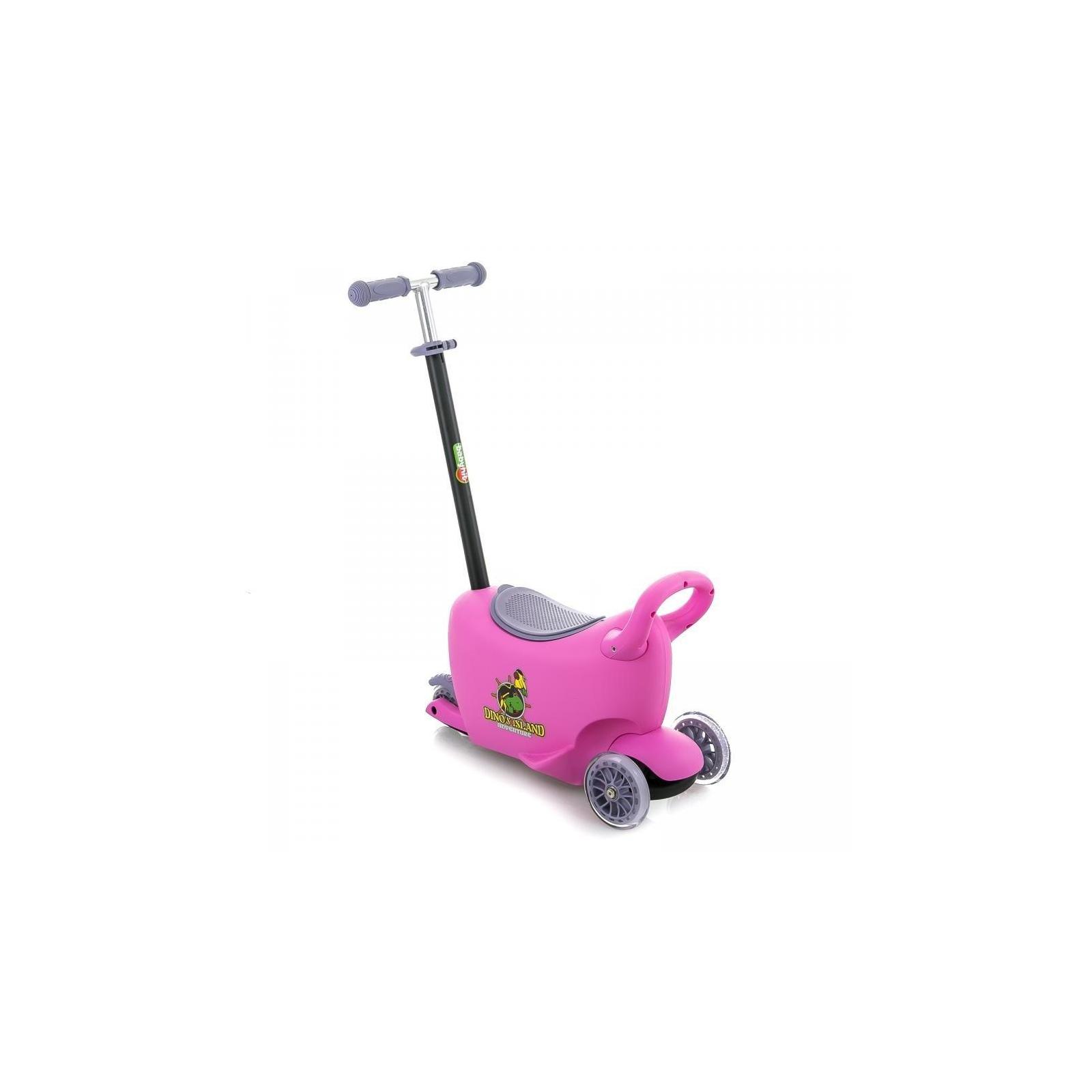 Самокат BabyHit Enjoy G2 Pink (25609)