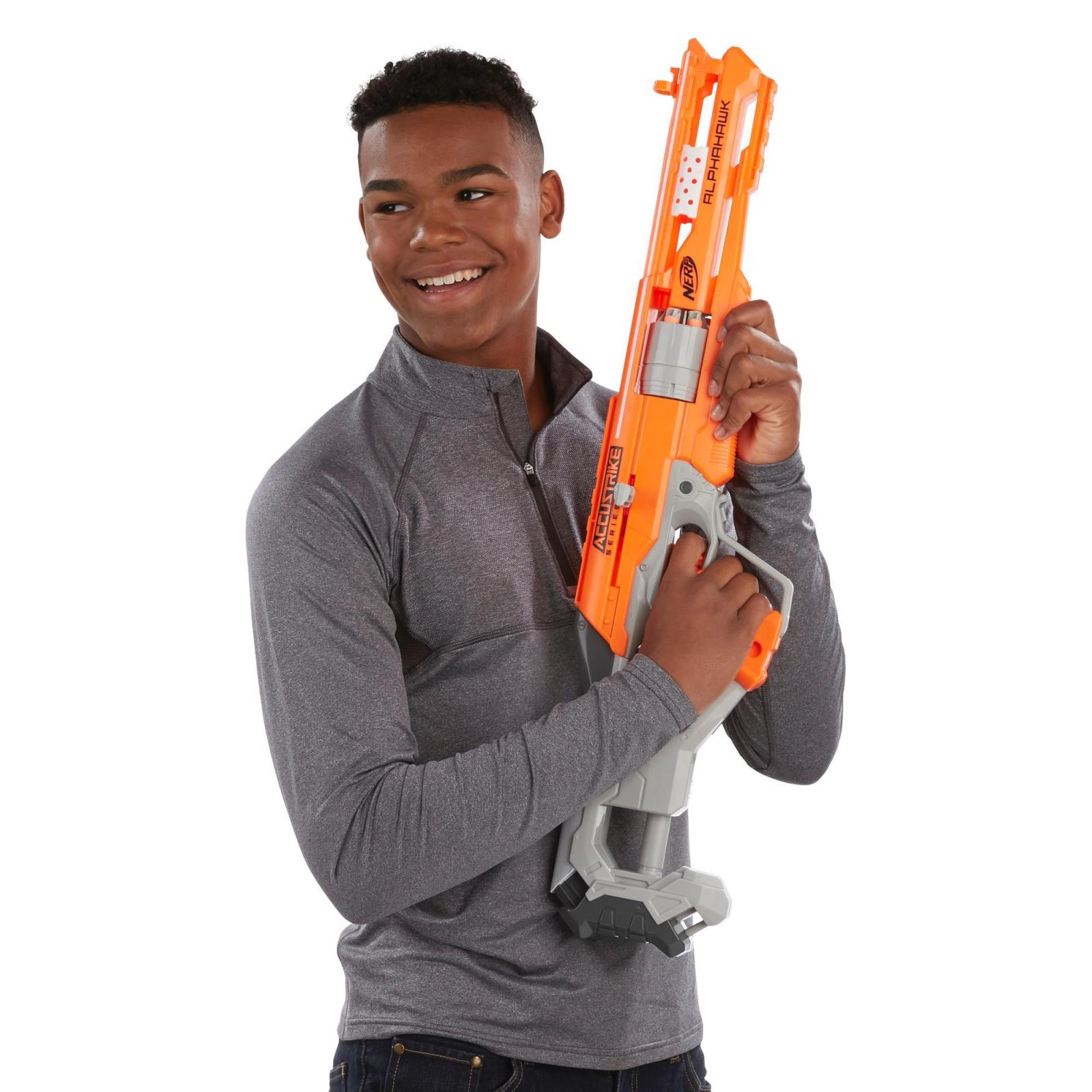Игрушечное оружие Hasbro Бластер Аккустрайк Альфахок (B7784) изображение 3