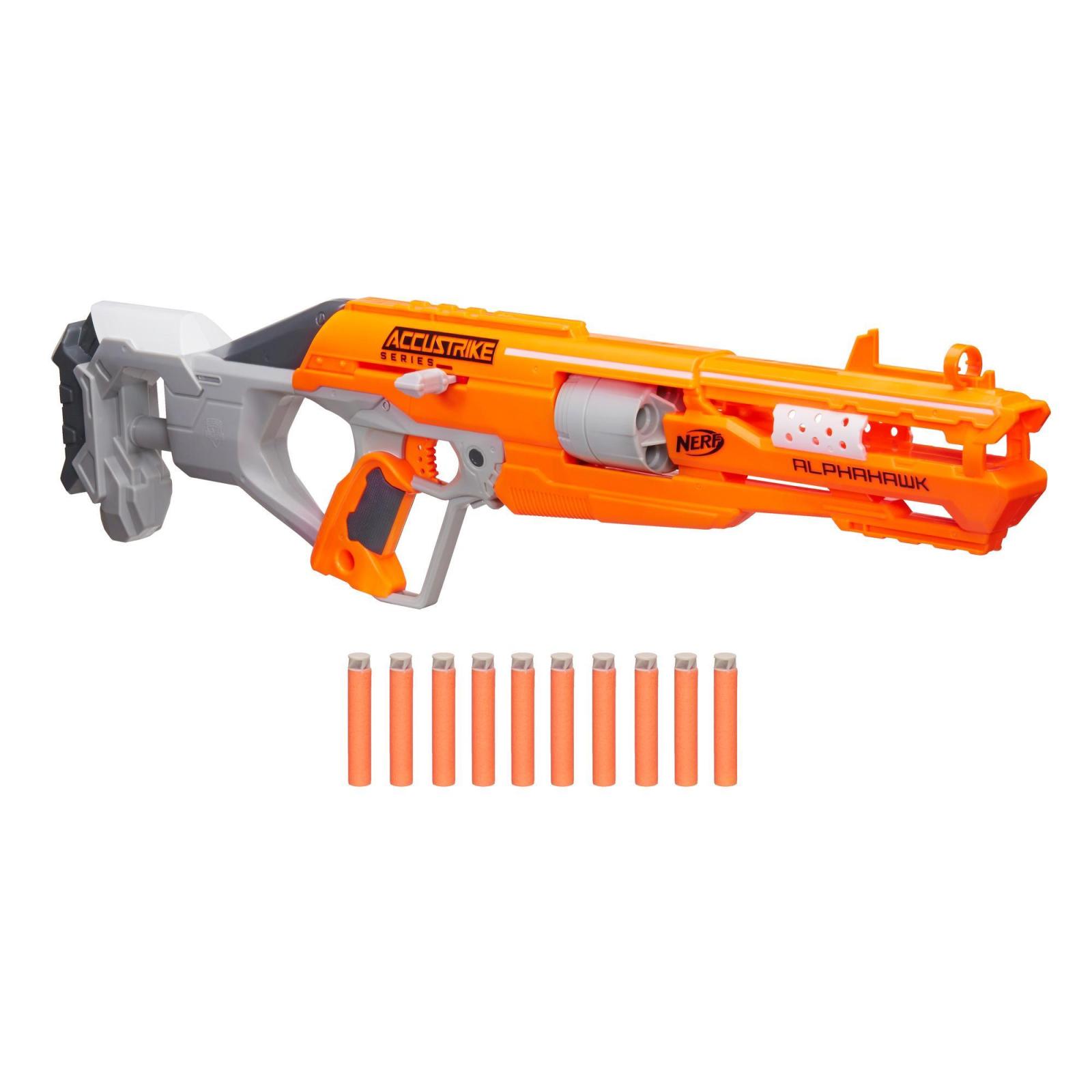 Игрушечное оружие Hasbro Бластер Аккустрайк Альфахок (B7784)