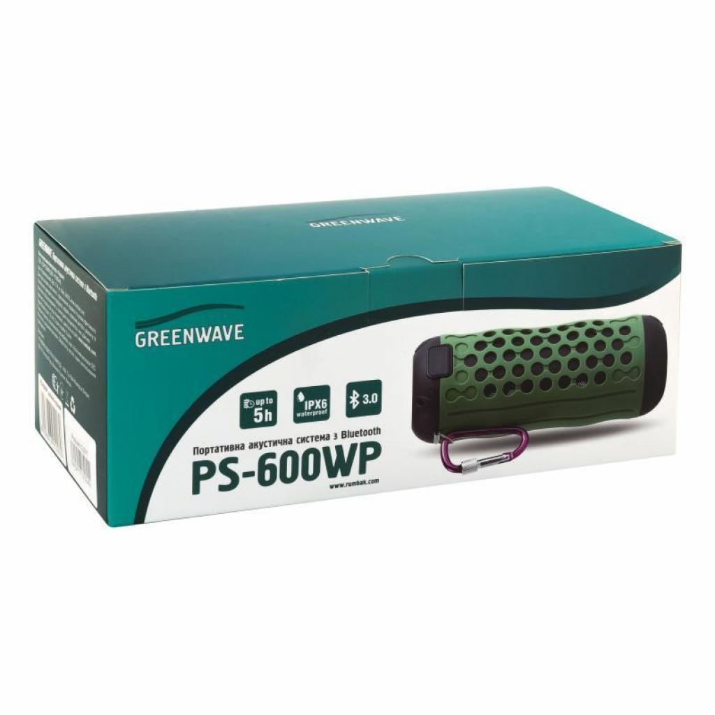 Акустическая система Greenwave PS-600WP Green-black (R0015126) изображение 4