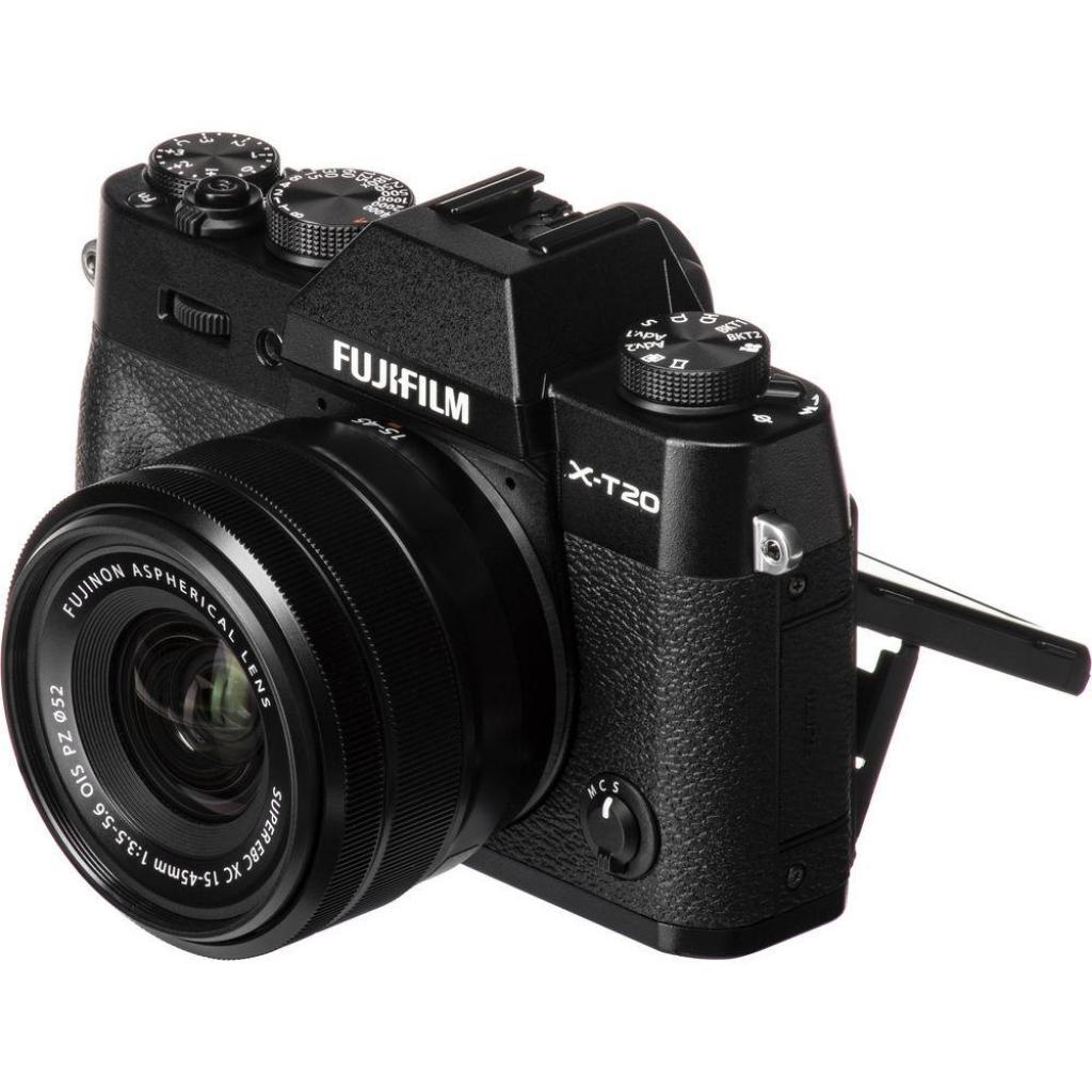 Цифровой фотоаппарат Fujifilm X-T20 XC 15-45mm F3.5-5.6 Kit Black (16584694) изображение 10