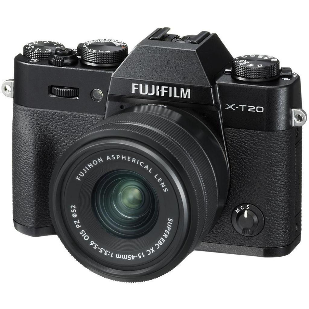 Цифровой фотоаппарат Fujifilm X-T20 XC 15-45mm F3.5-5.6 Kit Black (16584694) изображение 11
