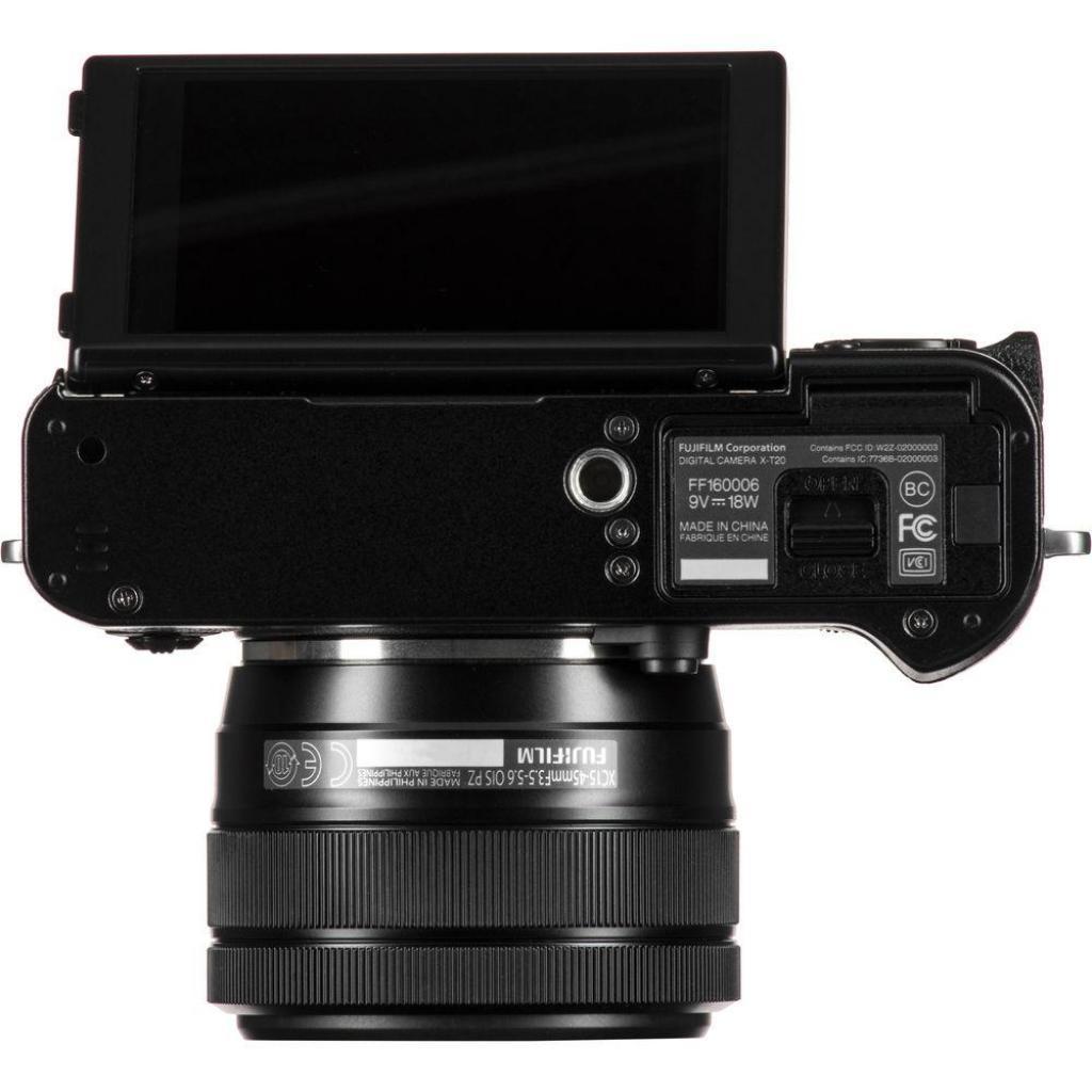 Цифровой фотоаппарат Fujifilm X-T20 XC 15-45mm F3.5-5.6 Kit Black (16584694) изображение 4