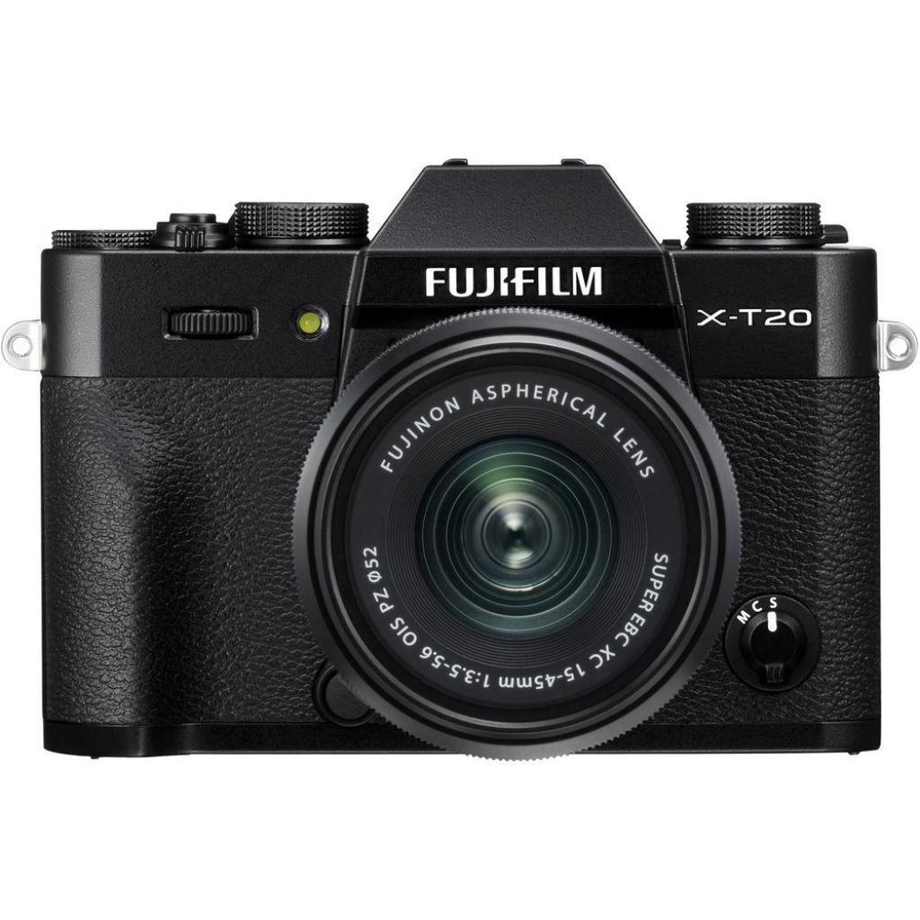 Цифровой фотоаппарат Fujifilm X-T20 XC 15-45mm F3.5-5.6 Kit Black (16584694)