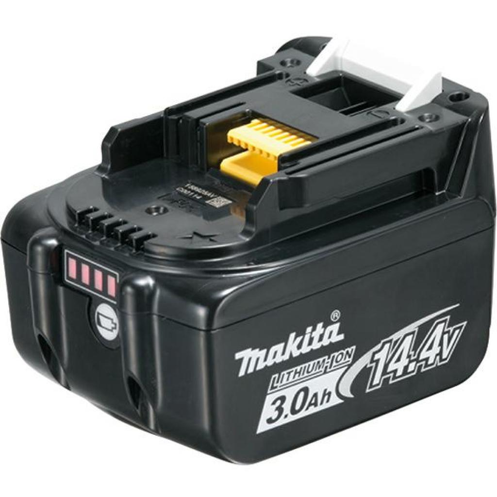 Аккумулятор к электроинструменту Makita BL1430B (Li-Ion, 14В, 3Ач, индикация заряда) (632G20-4)