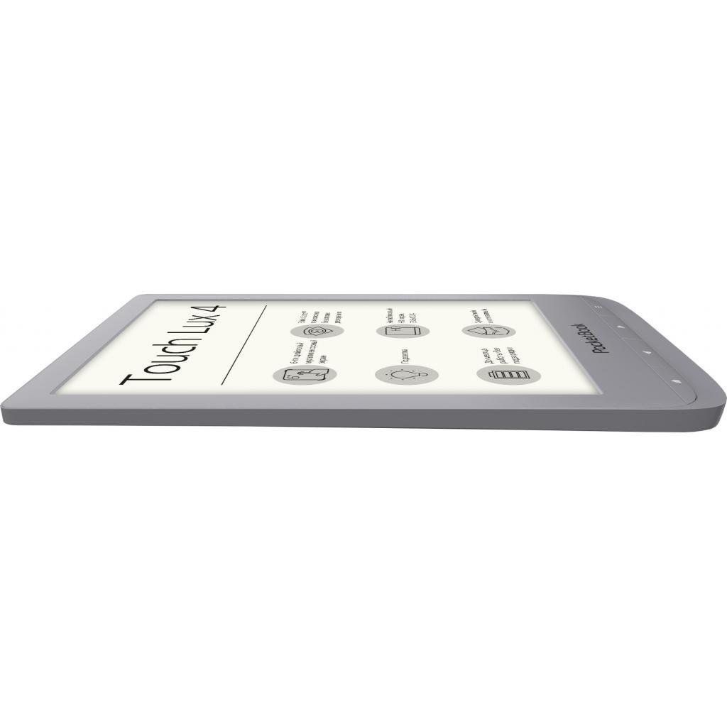 Электронная книга PocketBook 627 Touch Lux4 Silver (PB627-S-CIS) изображение 4