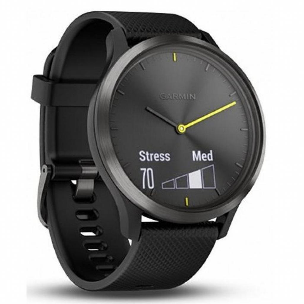 Смарт-часы Garmin Vivomove HR Sport Black/ Black Large (010-01850-A1) изображение 3
