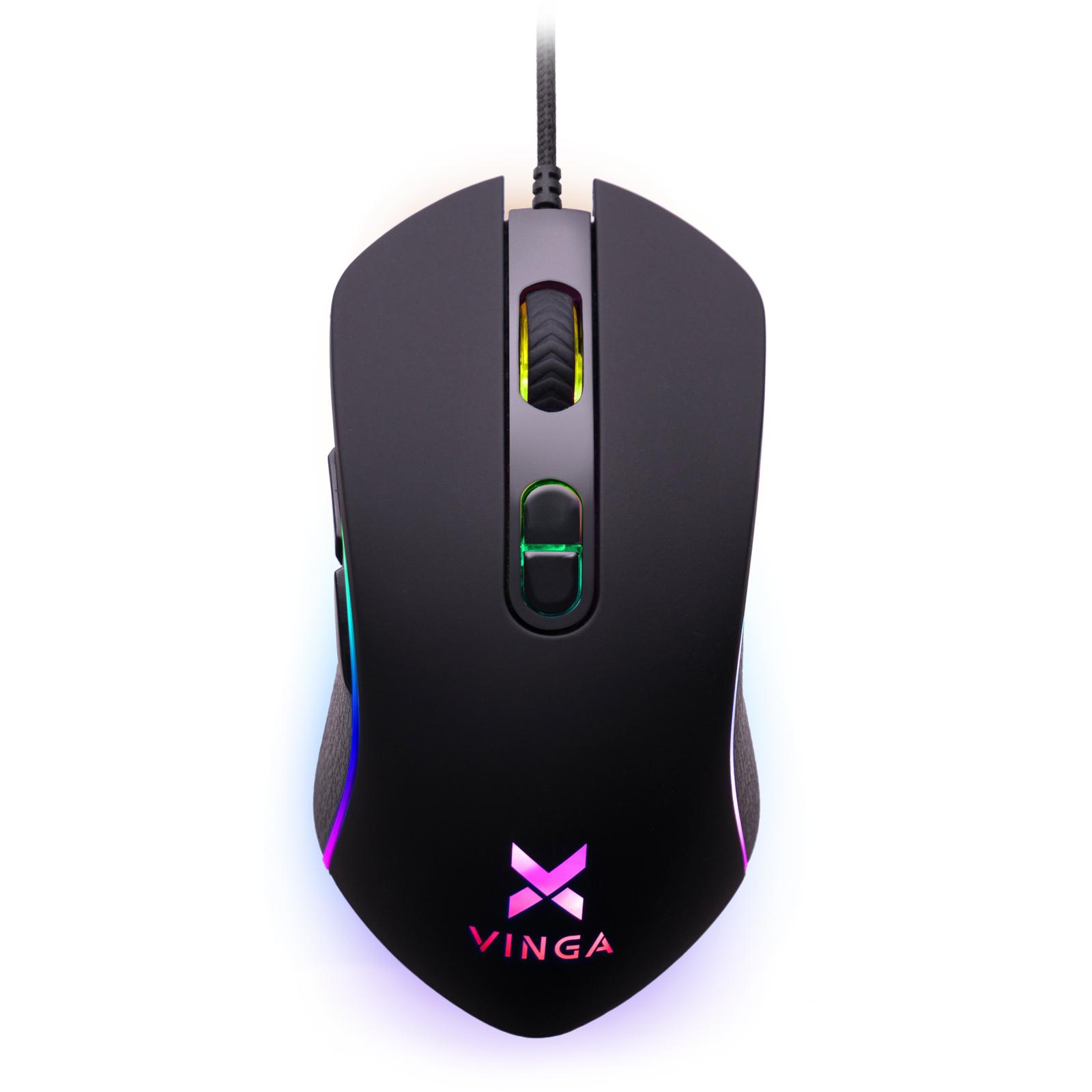 Мишка Vinga MSG-185 Black