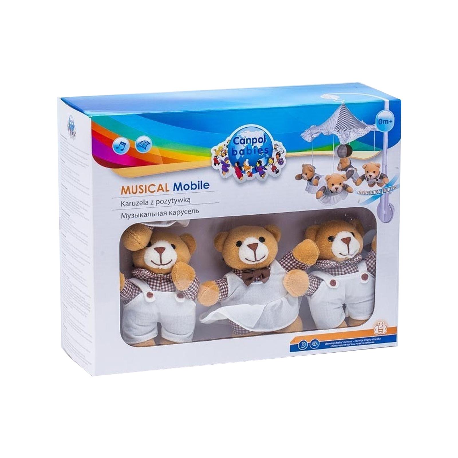 Мобиль Canpol babies Мишки под зонтиком (2/374) изображение 5