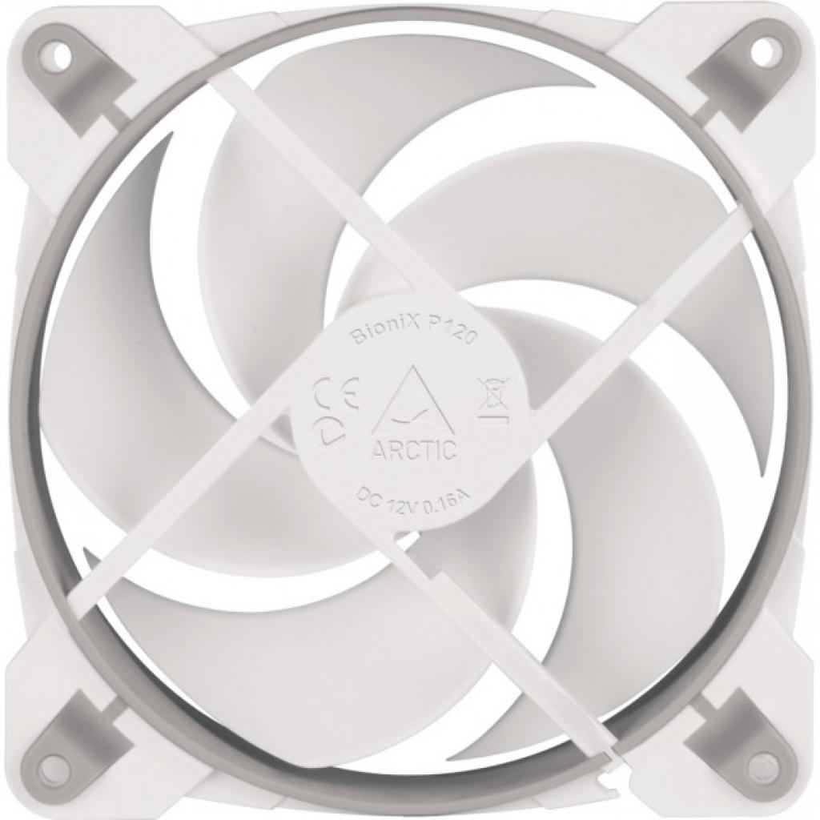 Кулер для корпуса Arctic BioniX P120 White (ACFAN00116A) изображение 2