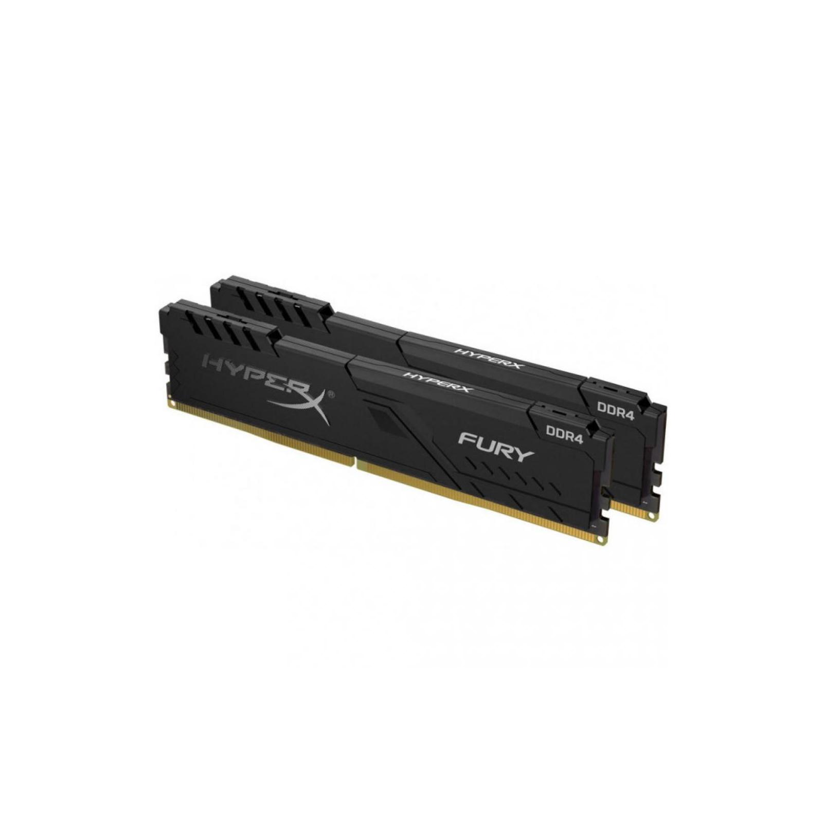 Модуль памяти для компьютера DDR4 64GB (2x32GB) 3000 MHz HyperX Fury Black Kingston (HX430C16FB3K2/64) изображение 2